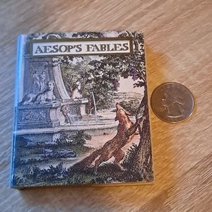 💥BUY 2 GET 1 FREE Tiny book AESOP'S FABLES